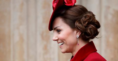 Kate Middleton looks completely different after she cut her long hair