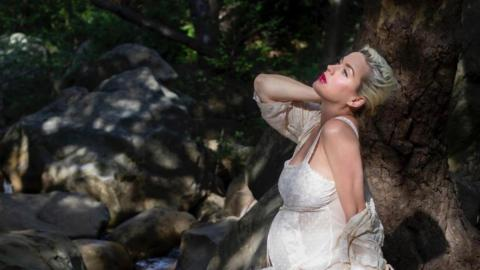 Katy Perry Reveals Baby Bump In New Video – And A Hint At Her Baby's Name…