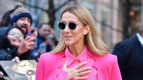 Celine Dion posts a natural photo of herself getting back to basics