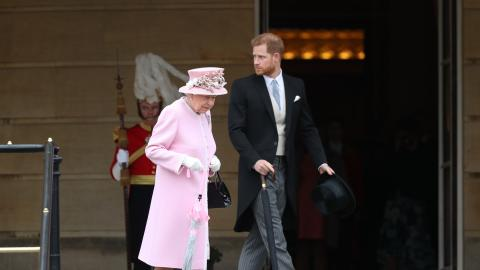 Prince Harry reveals the Queen's (amazing) Christmas present for Archie
