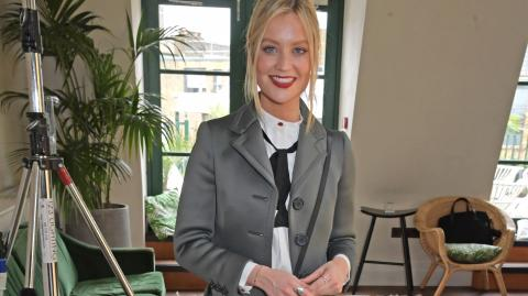Laura Whitmore reveals how she and Iain will juggle Love Island and Parenting