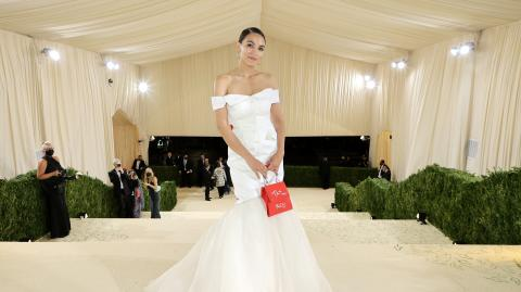 AOC: Statement-making Met Gala dress causes uproar on the internet