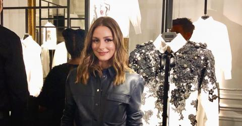H&M Is Selling A Version Of The Leather-Effect Shirt That Olivia Palermo Wore For £24.99