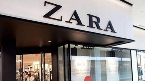 This Midi Dress From Zara Looks Amazing On Curvy Girls