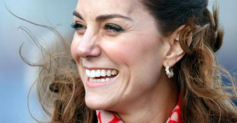 Kate Middleton Dared To Wear A Flashy Red Dress From Zara And It Suited Her Perfectly!