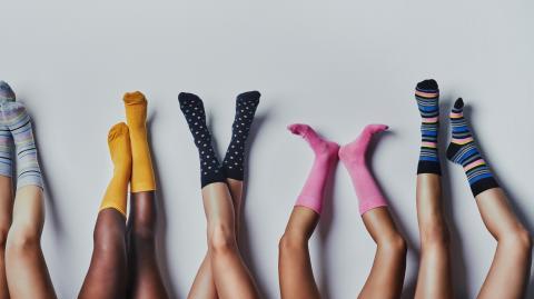 Winter 2021 trend alert: fashion socks