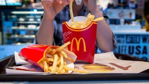 McDonald's has revealed the right way to eat ketchup and fries...And we have all been doing it wrong