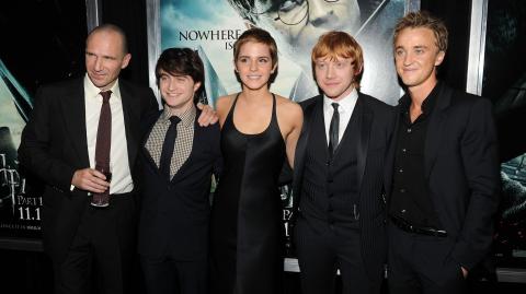 Tom Felton announces he's planning a Harry Potter reunion