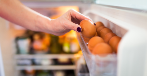 Here Is Why You Shouldn't Store Your Eggs In The Fridge Door