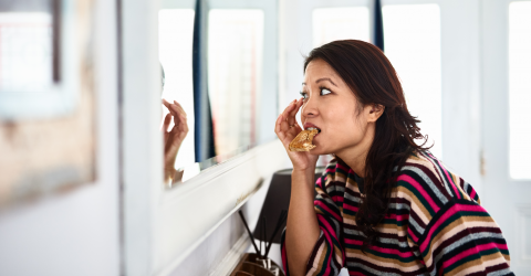 Eating too fast can have some serious consequences on your body