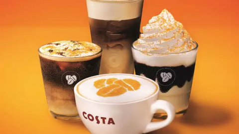 Costa's Newly Unveiled Honeycomb Menu Looks Absolutely Scrummy