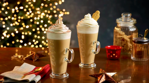 Costa has released their new menu and it's full of seasonal goodies