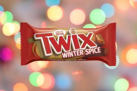 Twix Launches Brand New 'Winter Spice' Flavour
