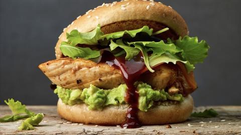 Easy DIY recipe: McDonald's chicken avocado burger