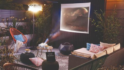 Aldi is now selling everything you need for a garden home cinema