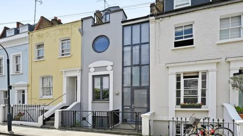 This is how much a four-meter-wide house in London costs