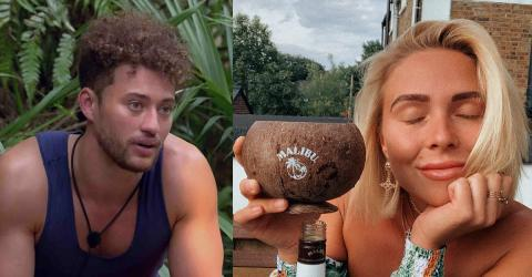 Gabby Allen Wades Into I'm A Celeb Controversy By Leaking Myles' Texts
