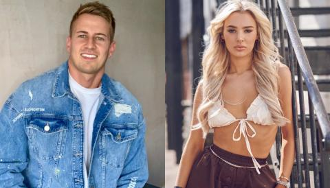 Love Island rejects Lillie and Jack 'couple up' after leaving the villa