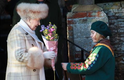 Queen calls for volunteers to work in her Sandringham Gardens