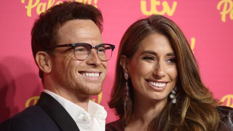 Stacey Solomon shares videos of intimate at-home birth of first daughter