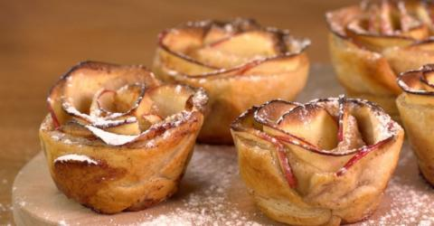 The Recipe For Rose-Shaped Apple Tarts