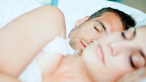 Platonic sleeping partners, a new relationship model