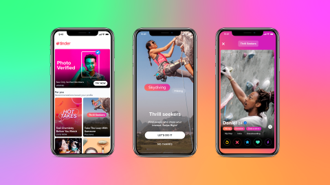 Tinder introduces new 'Explore' feature