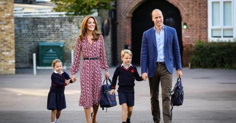 Here Are The Adorable Official Photos Of Princess Charlotte's First Day Of School!