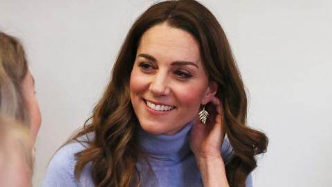 This photo of Kate Middleton is giving people chills