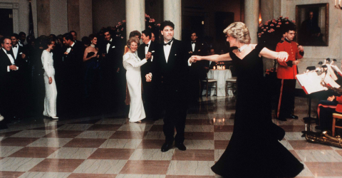 This is what really happened when Princess Diana spent the night with John Travolta