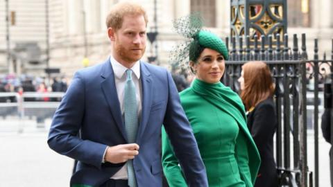 Meghan Markle and Prince Harry Have Been Getting Advice From… Adele