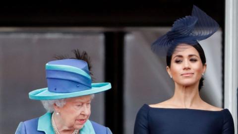 Queen Elizabeth II was deeply hurt by Meghan Markle's recent comments