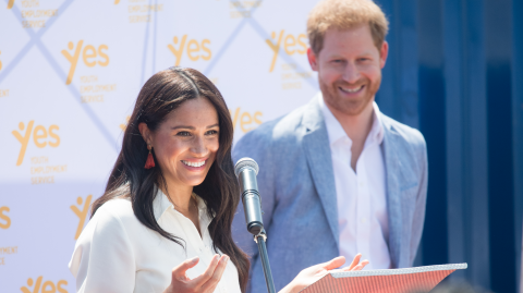 Royal competition: Meghan and Harry claim controversial honours list isn't intended to rival the Queen