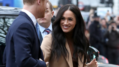 Meghan Markle has been voted as the most popular royal