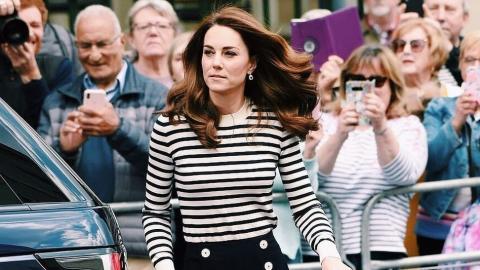 Shoppers are going wild for Kate Middleton's green Zara blazer