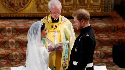 Archbishop of Canterbury breaks silence on Harry and Meghan's Wedding