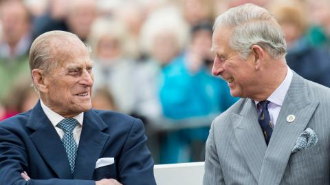 Prince Philip's final request to Charles on his deathbed