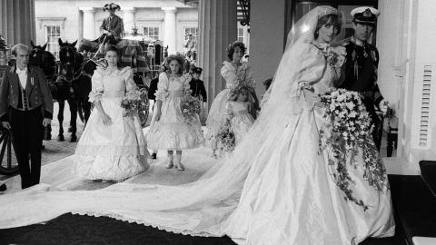 Princess Diana's iconic wedding dress to be displayed at upcoming exhibition