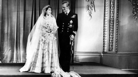 This is the cheeky item Elizabeth II had hidden under her wedding dress