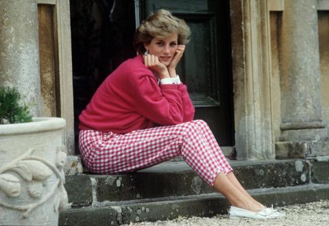 This is why Diana's last clothes and undergarments were burned