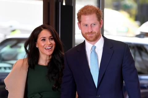 Prince Harry and Meghan Markle issue statement taking 'subtle shots' at royals