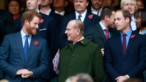 Prince Harry joins forces with royal family to pay homage to Prince Philip