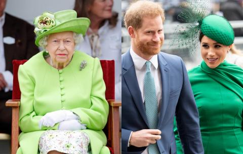Queen may not be the first royal to see Prince Harry and Meghan's daughter