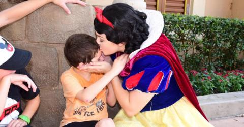 Heart Warming Moment At Disney World