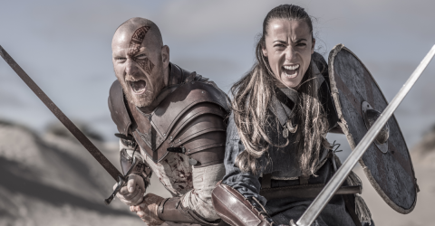 Couple Wed In Traditional Viking Fashion For The First Time In 1000 Years