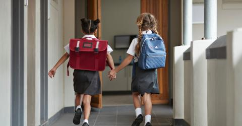 Mother drove her children to school but realised her mistake too late