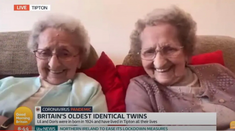 95-year-old twins reveal the raunchy secret to living longer