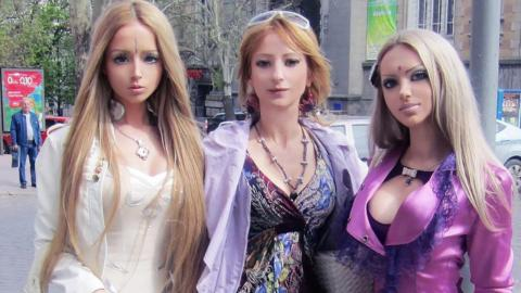 This 'Human Barbie' comes from a whole family of dolls
