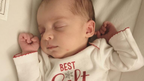 A medical miracle: This baby is just one year younger than her mother