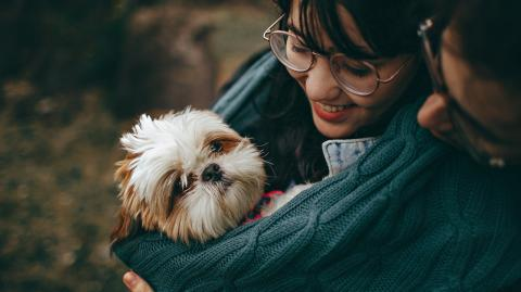 According to this study, your love of animals is written in your genes